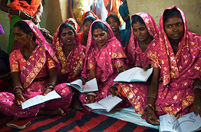 Through Heifer, young women in India have been able to go to school.